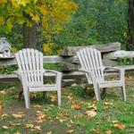 Chairs in Camping Area